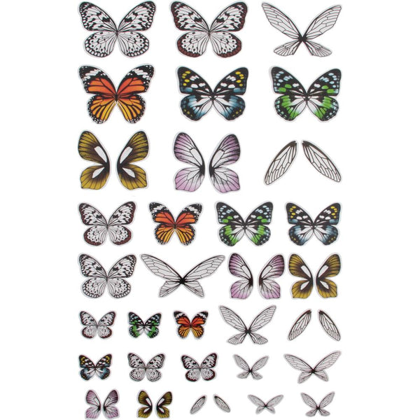 Idea-Ology Transparent Acetate Wings 72/Pkg