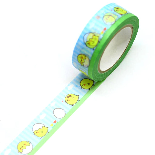 Chick Japanese Washi Tape SAIEN Easter Chick