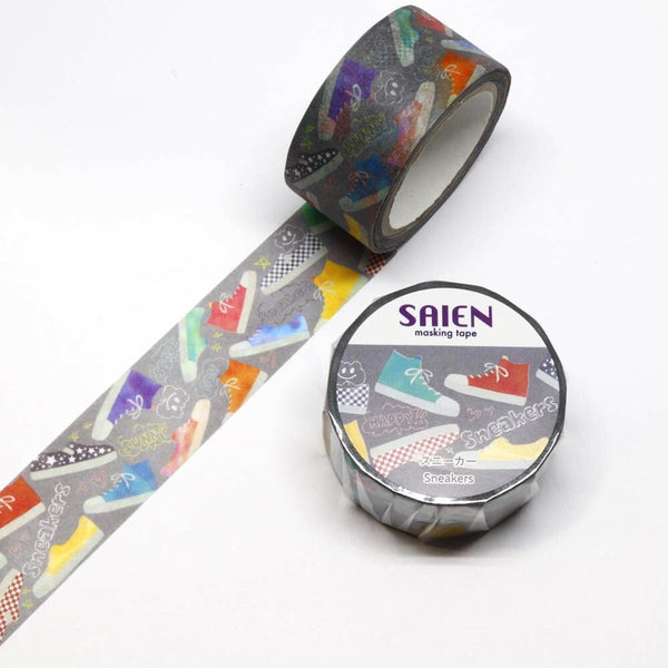 Sneakers Japanese Washi Tape SAIEN
