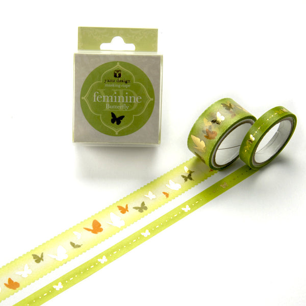 Butterfly Washi Tape Feminine Yano Design