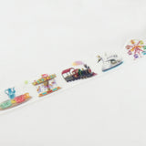 Amusement Park Round Top Masking Tape • Yano Design Trip & Holiday