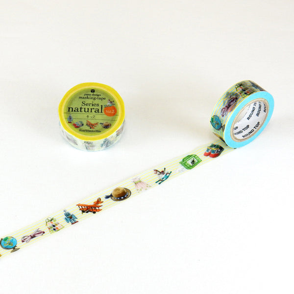Kids Round Top Masking Tape • Yano Design