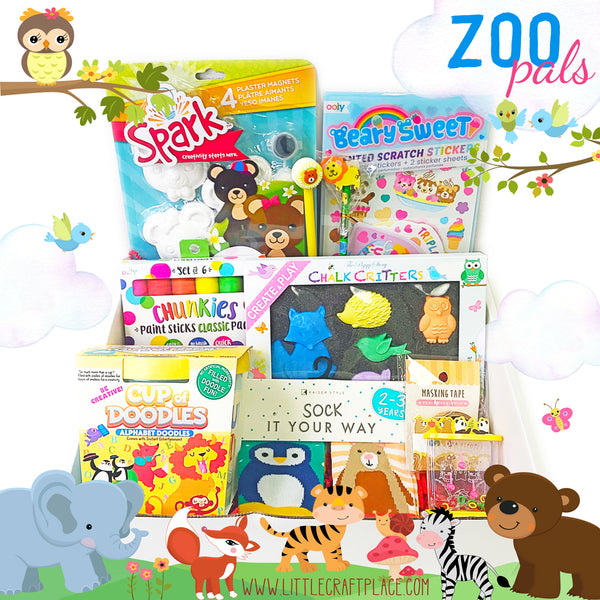 Zoo Pals Box - 3 and up