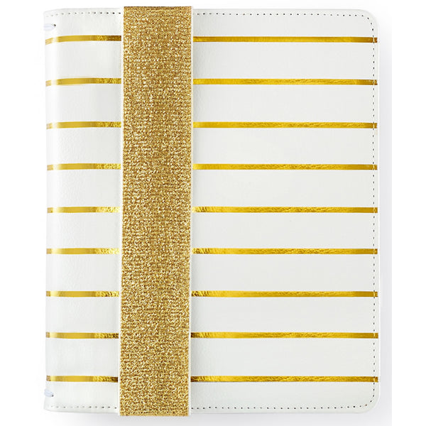 A5 Bullet Planner Kit Gold Stripe