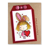 Yummy Mimi Rubber Stamp • Baking Rubber Stamp