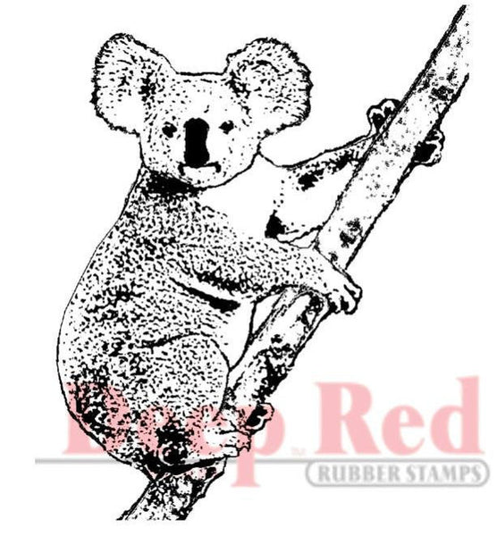 Koala Bear Rubber Stamp