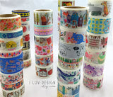 Vintage Stamp Japanese Washi Tape Aimez