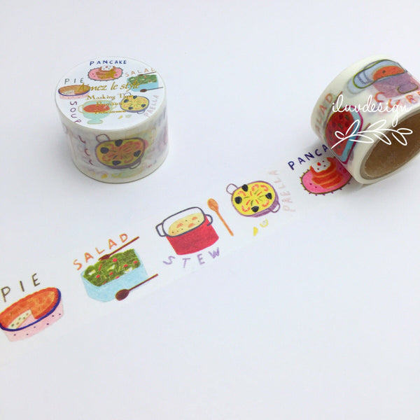 Delicatessen Japanese Washi Tape Aimez