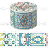 Pastel Nature Japanese Washi Tape  Aimez