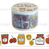 Fruit jam washi tape Aimez Le Style