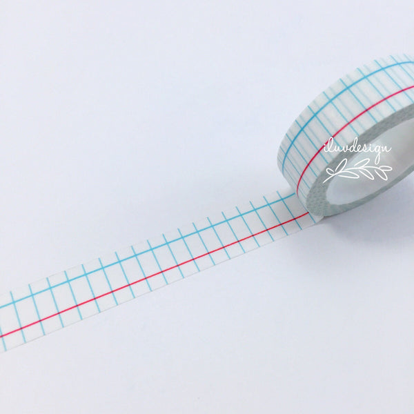 Notepad Washi Tape • Notebook Decorative Tape