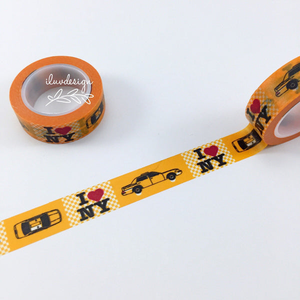 New York Washi Tape • I Heart NY Decorative Tape