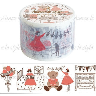 Pajamas Party Japanese Washi Tape Aimez