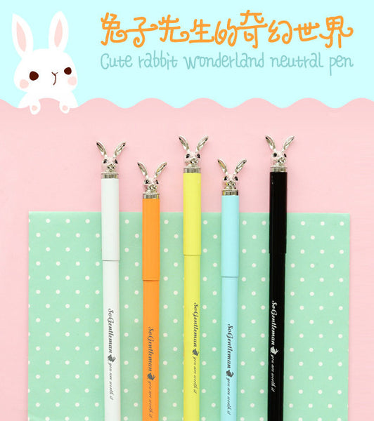 Bunny Gel Pen 0.5mm Black Ink