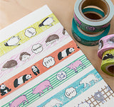 Japan Washi Tape • Animal Series Masking Tape - Panda Bear