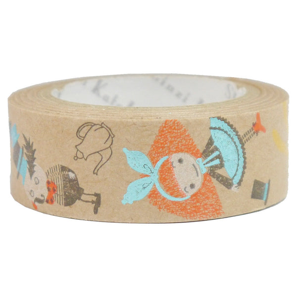 Alice Pochon Kraft Paper Masking Tape • Shinzi Katoh Design Japanese Washi Tape