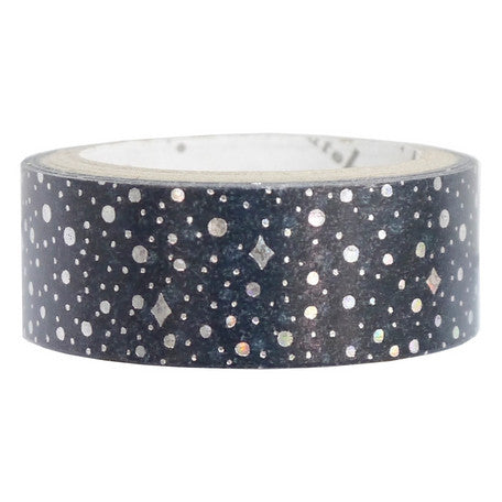 Galaxy Star Foil Masking Tape • Shinzi Katoh Design Japanese Washi Tape