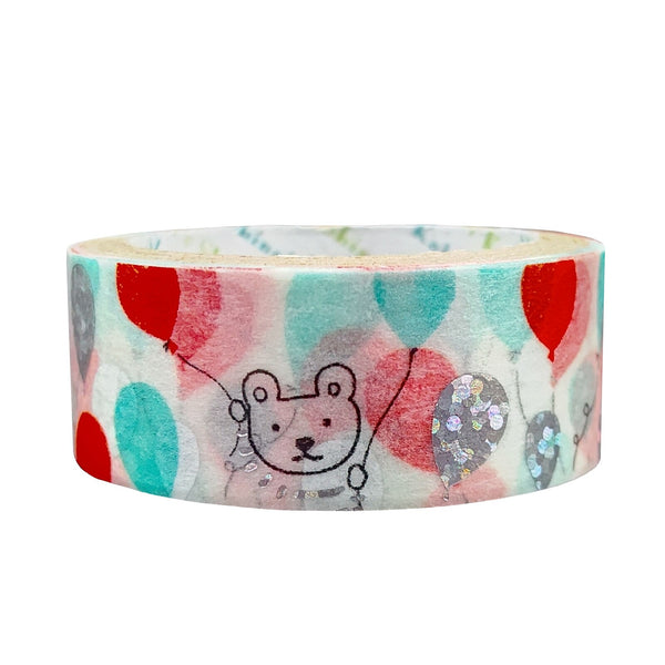 Balloon Bear Washi Tape Shinzi Katoh Design