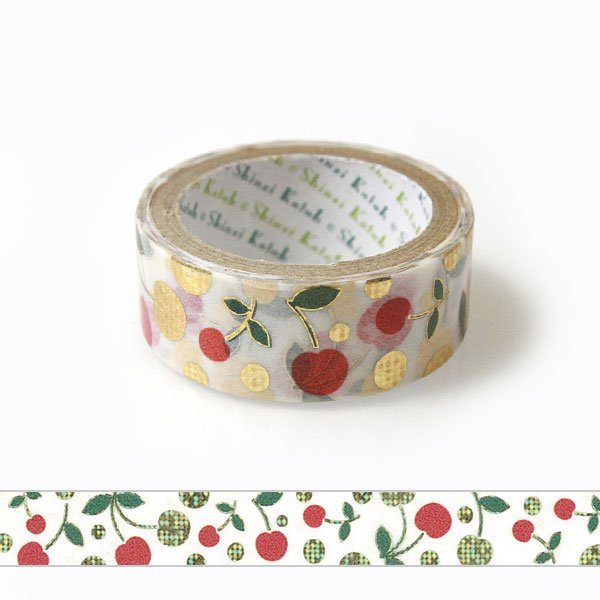 Cherry Japanese Washi Tape Shinzi Katoh Design