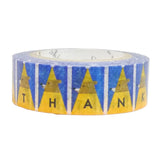 Thank You Tongari Hat Masking Tape  • Shinzi Katoh Design Japanese Washi Tape