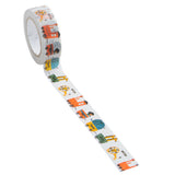 Animal Train Masking Tape • Shinzi Katoh Design Japanese Washi Tape