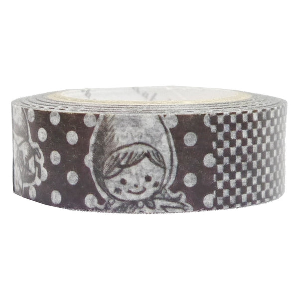Little Red Riding Hood Masking Tape • Shinzi Katoh Design Japanese Washi Tape
