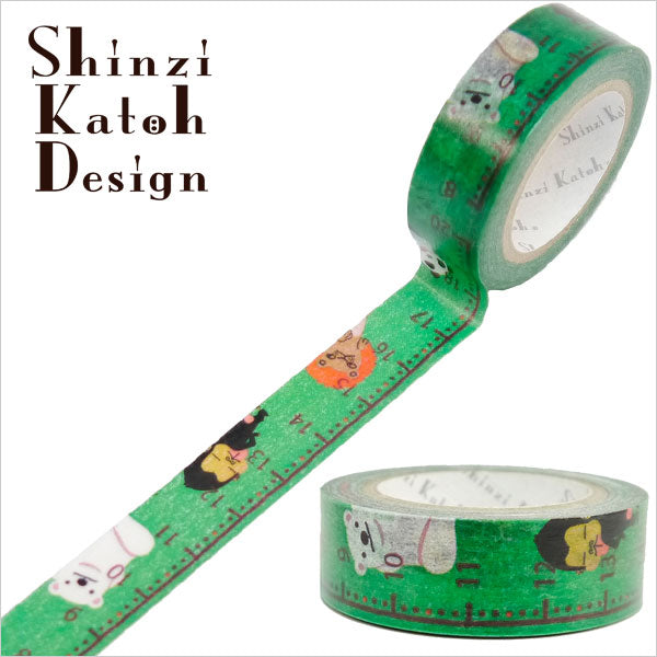 Time Schedule Animals Washi Tape • Shinzi Katoh Design