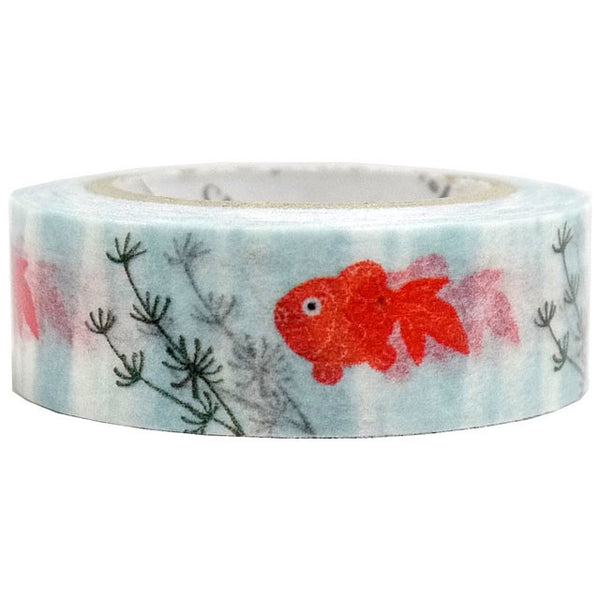 Goldfish Masking Tape • Shinzi Katoh Design Japanese Washi Tape