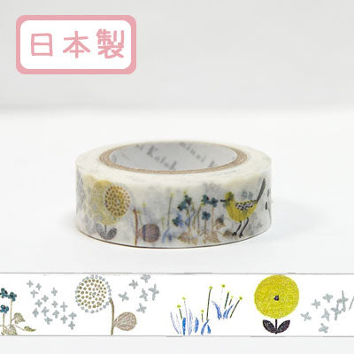 Wildflower Washi Tape • Shinzi Katoh Design