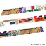 Airmail Japanese Washi Tape •  Scrap Deco Masté Masking Tape