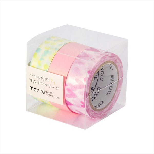 Pearl A masté 3 Pieces Set Japanese Washi Tape