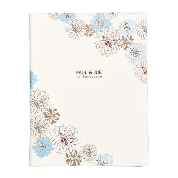 PAUL & JOE La Papeterie A5 Chrysanthemum Ring Binder Planner