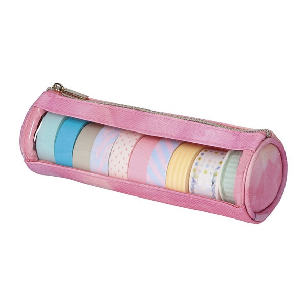 Washi Tape Pouch Pink Mark's