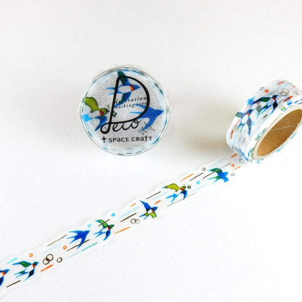 Swallow Washi Tape • Round Top Space Craft