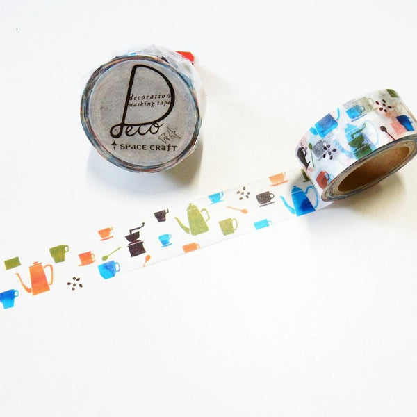 Cafe Washi Tape Space Craft