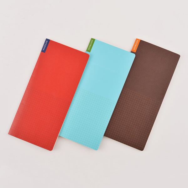 Hobonichi Memo Pad Set for Weeks 3pcs