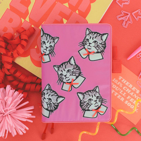 Hobonichi 2021 Candy Stripper Spruced-up Cat A5 Size Cousin (April Start)