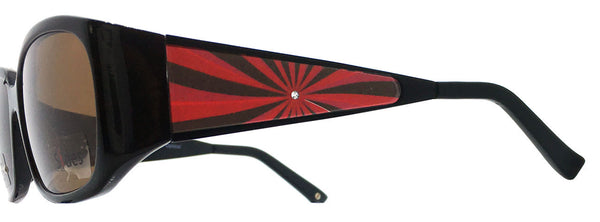 Crystal Burst (Red/Black) - Upscale Eyes