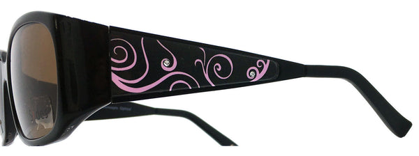 Curls (Black/Pink) - Sides Eyewear Changeable Temples