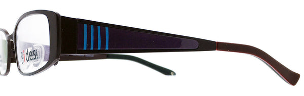 Lines (Bordeaux/Blue) - Sides Eyewear Changeable Temples