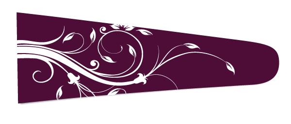 Floral (Bordeaux/White) - Upscale Eyes