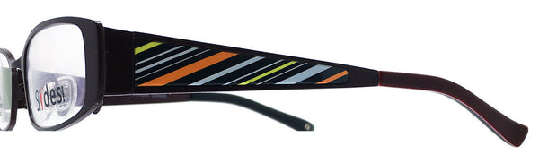 Stripes (Black/Orange) - Upscale Eyes