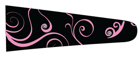 Curls (Black/Pink) - Upscale Eyes