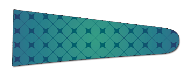 Geometric (Teal/Black) - Upscale Eyes