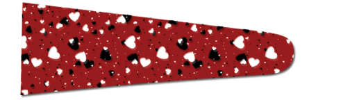 Hearts (Red/Black) - Upscale Eyes