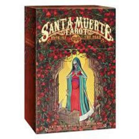 Santa muerte tarot book of the dead deck guidebook download digital pdf