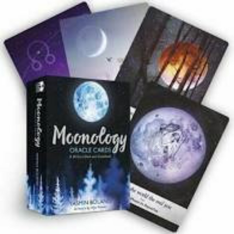 Moonology oracle guidebook and instructions wicca witchcraft tarot