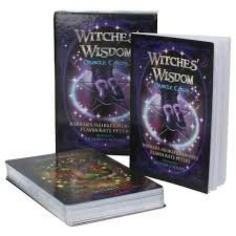 Witchs wisdom oracle guidebook instructions pdf download digital file