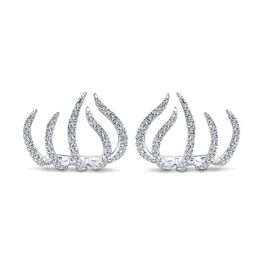 14k White Gold Kaslique Stud