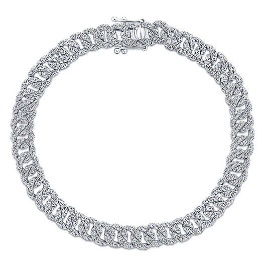 14k White Gold Lusso Diamond Tennis